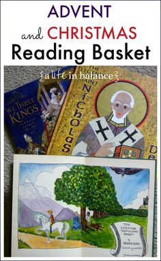 This is an AWESOME list: Advent and Christmas Reading Basket via @alifeinbalance_