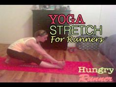 ▶ Yoga Stretch for Runners - YouTube