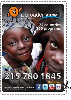 Volunteer Abroad 22 Countries  Social & Conservation Programs https://www.abroaderview.org