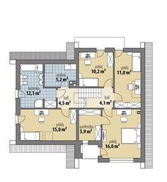 Elsa II Planer, Elsa, House Plans, Floor Plans, House Design, Houses, Decoration, Modern Flooring, Rustic Homes
