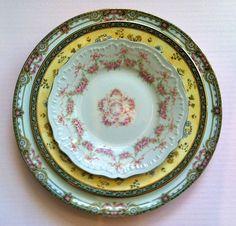 vintage shabby chic china