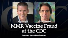 CDC whistleblower / MMR vaccine fraud - Interview with Jon Rapport from ...