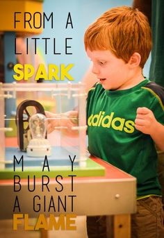 At Creative Discovery Museum, one of our goals is to send out sparks to every guest that lead to bursts of creativity and learning throughout life.