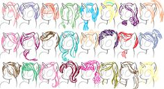 Mlp Mane Styles that you can use for a plushie Animal Sketches, Animal Drawings, Art Drawings, Drawing Animals, My Little Pony Hair, My Little Pony Drawing, You Draw, How To Draw Hair, Mlp Hairstyles
