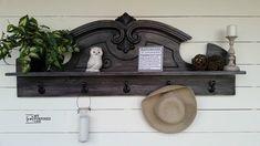 MyRepurposedLife-black-coat-rack-shelf-china-hutch-pediment