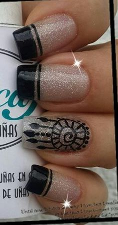 I like the French but don't care for the design. Fabulous Nails, Perfect Nails, Gorgeous Nails, Pretty Nails, Crazy Nails, Love Nails, Fun Nails, Glam Nails, Beauty Nails