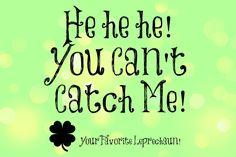 Leprechaun Trap & Leprechaun Tricks!  Fun For Kids w/ Free Printables!  (Think a St. Patrick's Day version of Elf on The Shelf!! SOOOO Much Fun!)
