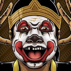 Bagong the Punakawans by Charles AP, via Behance