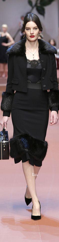 Dolce & Gabbana Fall Winter 2015-16 RTW