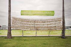 Wind-Chime. Strijdom van der Merwe in partnership with Ogilvy Johannesburg and Greepeace