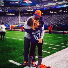 Eric Decker & Jessie James Decker can't get any more perfect than this.