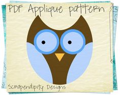 Looking for your next project? You're going to love Owl Applique Template Shirt Quilt by designer Scrapendipity.