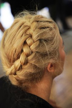 Braided Hair #Blonde
