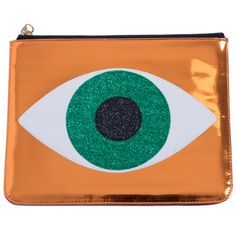 EMERALD EVIL EYE CLUTCH