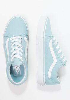 c07decb257 OLD SKOOL - Sneakersy niskie - crystal blue true white   Zalando.pl 🛒. Vans  ShoesSock ...