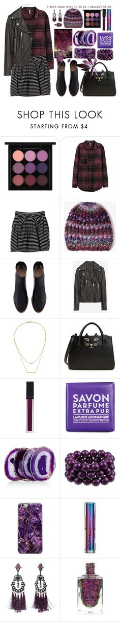 """...the freedom to be myself."" by moodboardsbyluna ❤ liked on Polyvore featuring MAC Cosmetics, H&M, Jill Stuart, Forever 21, Zara, Kacey K Fine Jewelry, Charlotte Olympia, Smashbox, La Compagnie de Provence and Anna New York"