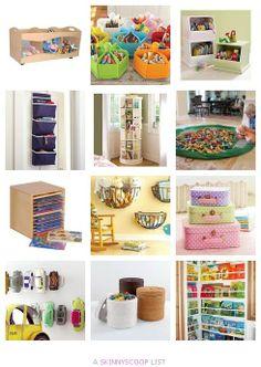 12 Brilliant Toy Organization & Storage Ideas by Erin, Chief Mom