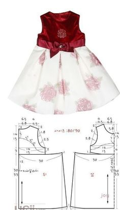 Baby Girl Dress Patterns Baby Clothes Patterns Love Sewing Baby Sewing Sewing For Kids Little Girl Outfits Kids Outfits Frock Design Sewing Clothes Little girls dresses - Pattern with measurements in cm A selection of children& models . Baby Girl Dress Patterns, Baby Clothes Patterns, Dress Sewing Patterns, Little Girl Dresses, Clothing Patterns, Girls Dresses, Pattern Sewing, Baby Sewing, Fashion Kids