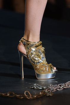 You must pair these with a simple classic dress for these to work however they could make the outfit.  DSquared2