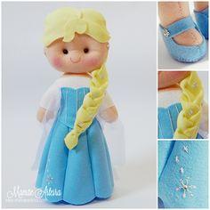 Mamãe Arteira: Elsa - Frozen