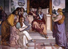 Peter von Cornelius - Joseph Interpreting  Pharaoh's Dream