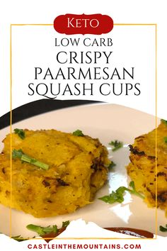 Parmesan Crispy Squash Cups - How to make crispy squash. Low Carb Sauces, Low Carb Recipes, Healthy Recipes, Coconut Chicken Strips, Cooking Spaghetti Squash, Low Carb Ketchup, Best Side Dishes, Recipe Today, Coffee Martini Recipe