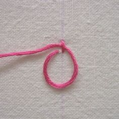 Palestrina stitch , which is also called old English knot, double knot stitch, and tied coral stitch, creates a line of raised knots that is...