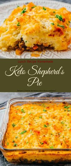 Keto Shepherd's Pie - Food - Delicious Recipes - Pie Healthy Pie Recipes, Best Dinner Recipes, Lunch Recipes, Low Carb Recipes, Delicious Recipes, Free Recipes, Low Carb Shepherds Pie, Shepherds Pie Recipe Healthy, Sheppards Pie Recipe