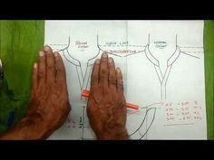 Round collar neck design cutting and stitching DIY tutorial Part 3 - YouTube