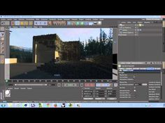 VRAYforC4D render y configuracion 1ra parte - YouTube