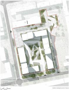 Masterplan Architecture, Healthcare Architecture, Architecture Panel, Architecture Graphics, Architecture Design, Architecture Concept Diagram, Architecture Presentation Board, Landscape Architecture Perspective, Landscape Design