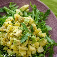 bramborový salát s avokádem Potato Salad, Salad Recipes, Potatoes, Ethnic Recipes, Food, Eten, Potato, Meals, Diet