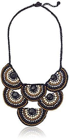 Panacea Half Moon Bib Necklace on shopstyle.com