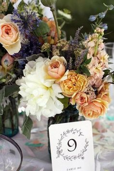 Wedding roses represent love and passion, so they naturally are a great addition to any wedding design. Photo via Flickr