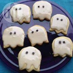 Rezeptbild: Halloween Kekse als Geister