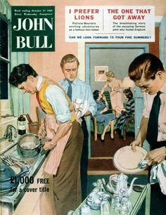 John Bull, October 1956