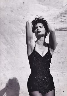 Isabella Rossellini by Steven Meisel for Dolce & Gabbana, 1989