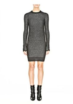 Shop for Crewneck Dress by Alexander Wang at ShopStyle. Short Dresses, Dresses For Work, Minimalist Fashion, Minimalist Style, Alexander Wang, Work Wear, Ready To Wear, Crew Neck, Feminine