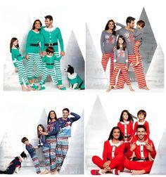 Burt's Bees Organic Cotton Striped Family Pajamas Collection ...