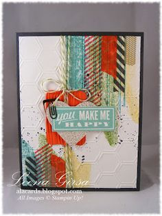 A La Cards: More Magical Masking Tape  uses masking tape and the Gorgeous Grunge set
