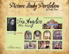 Picture Study Portfolio: Fra Angelico - Simply Charlotte Mason picture study