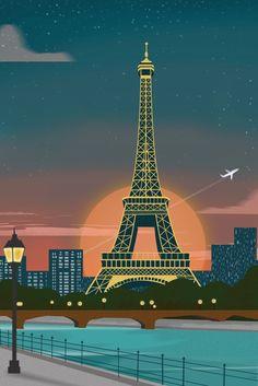 graphics & design posts - The Scrapbook Collection Illustration Ligne, Illustration Parisienne, Paris Png, Paris France, Paris Clipart, Architecture France, Paris Poster, Retro Poster, Decoupage Vintage