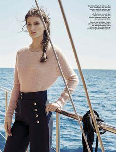 Stephanie Joy Field & Kely Ferr byRosi Di Stefano for Vogue Italia - Ermanno Scervino