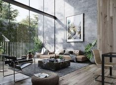 30 Brilliant Image of Living Room Ideas Furniture . Living Room Ideas Furniture 30 Masculine Living Room Ideas Inspirations Man Of Many Masculine Living Rooms, Tiny Living Rooms, Masculine Interior, Living Room Designs, Modern Living, Simple Living, Room Interior Design, Living Room Interior, Interior Design Inspiration