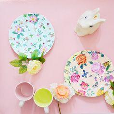 jolie vaisselle enfant #natalielété pour les repas, table d'anniversaires ou les pique-niques en famille ♥ disponible sur frenchblossom.fr