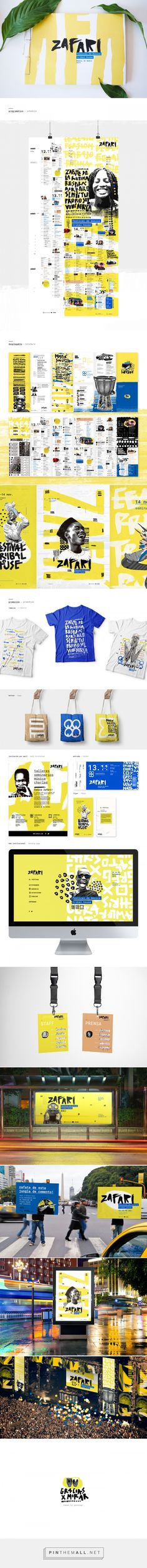 Zafari Festival Branding by Jennifer Reid | Fivestar Branding Agency – Design and Branding Agency & Curated Inspiration Gallery