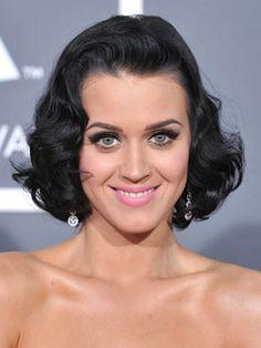 Katy Perry Short Curly Hair