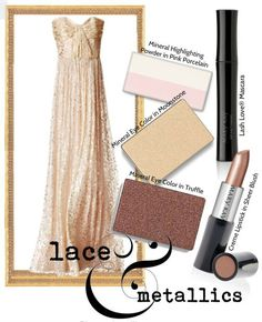 Lace and metallic-embellished gowns are popular on the red carpet this season! Carry the shimmery color scheme through your makeup for a complete look.  www.marykay.co.uk/etimbo