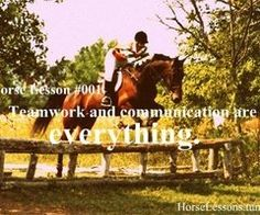 Eventing and horses