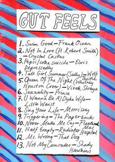 Friday Playlist: Gut Feels
